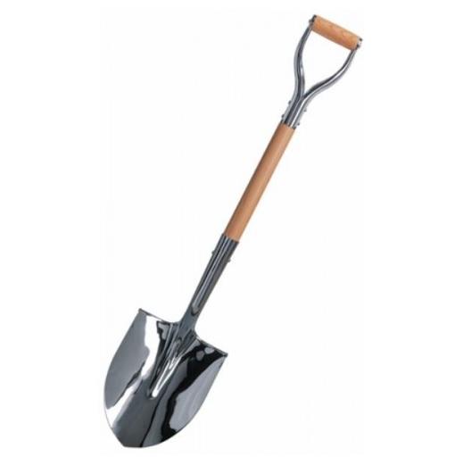Silver Ground Breaking Shovel