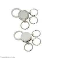 Multi Loop Metal Keyring
