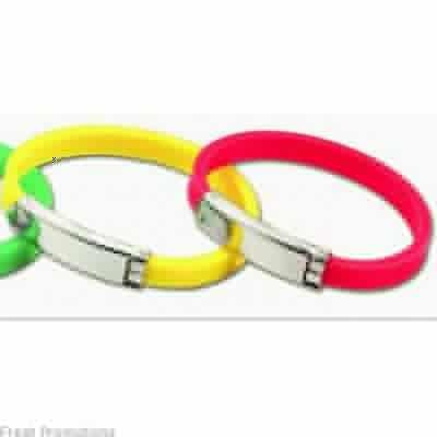 Silicone Wristbands With Clasp