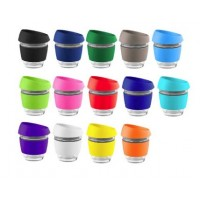 Reusable Glass Coffee Cups 225ml