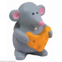 Mouse With Cheese Stress Toys