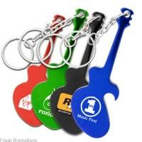 Guitar Key Chain Openers