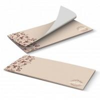 DL Horizontal Custom 25 Leaves Notepads