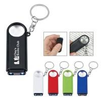 Magnifier and LED Light Keyring