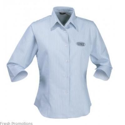 Ladies Pin Point Shirt