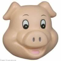Pig Face Stress Balls