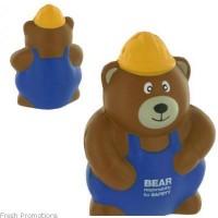 Construction Bear Stress Toys
