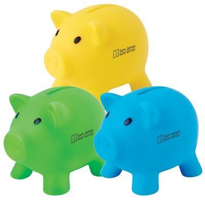 Pee Wee Pig Coin Bank