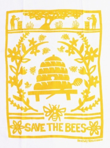 Screen Printed Tea Towels Printed One Colour