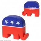 Republican Elephant Stress Toys