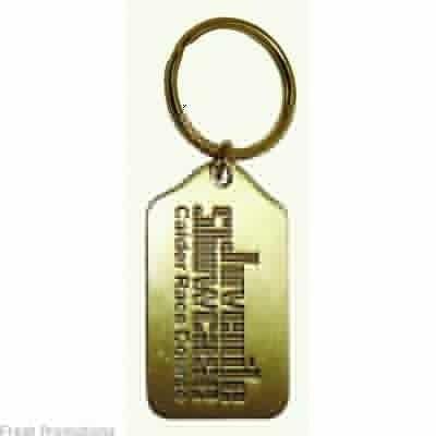 Custom Stamped Metal Keyrings