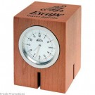 Wood Block Desk Clocks