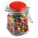 Mini M&Ms In Square Canister