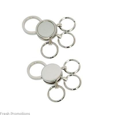 Multi Loop Metal Keyring