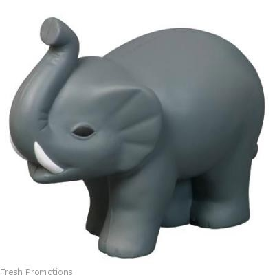 Elephant With Tusks Stress Toys