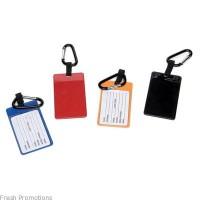 Carabiner Luggage ID Tags