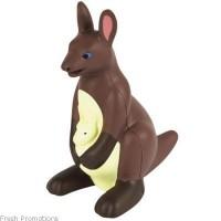 Kangaroo With Joey Stress Toys