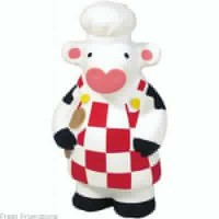Cooking Cow Stress Toys