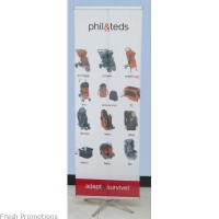 Folding Banner With Footing