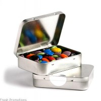Gift Tin Of Chocolate Beans