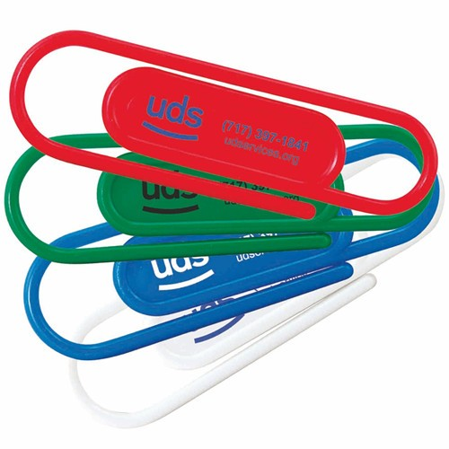 Giant Paperclips with Custom Print