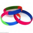 Three Colour Wristbands